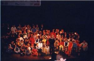 Audition de la classe des tout-petits à la Comédie des Champs Elysées