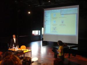 """Conférence de rentrée à l'Institut Dalcroze de Genève, sur le thème """"La transmutation du vécu en savoir"""""""