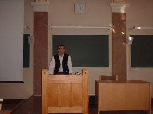 Helsinki Conférence à l'Université